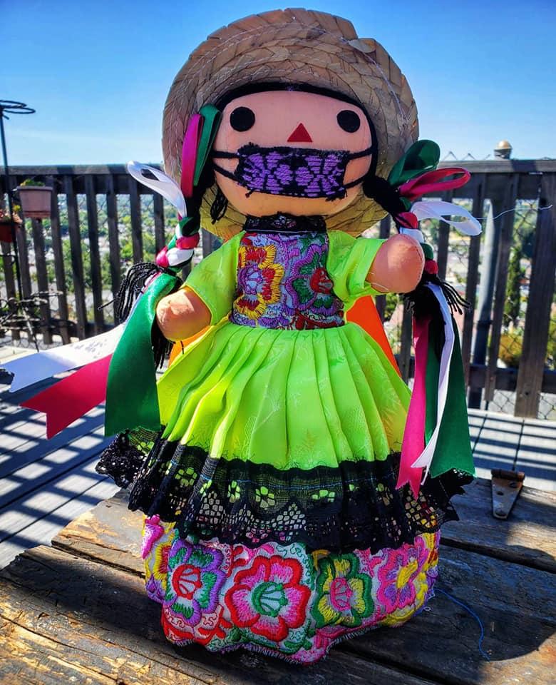 Lele doll. Photo by Claudia Lopez.