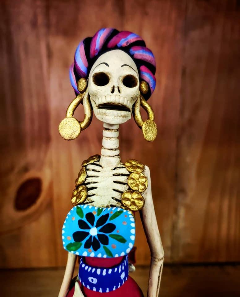 Catrina doll. Photo by Claudia Lopez.