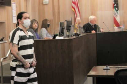 Jose Barajas is facing six felony counts, including murder, and possibly a second trial for two more felonies allegedly committed while in jail. Photo by John Chadwell.