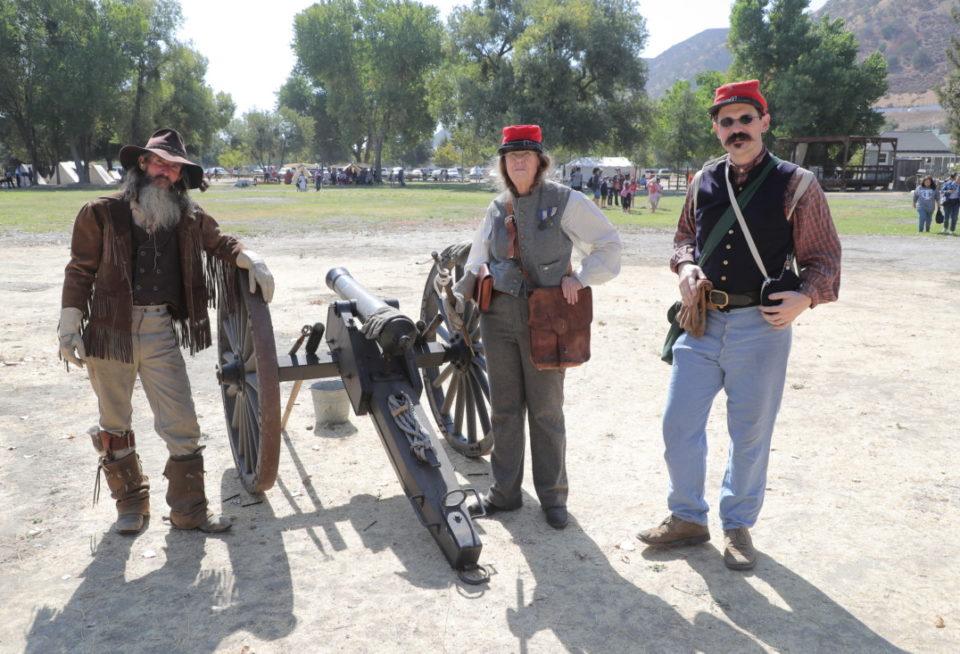 Cannon crew. Photo by Robert Eliason