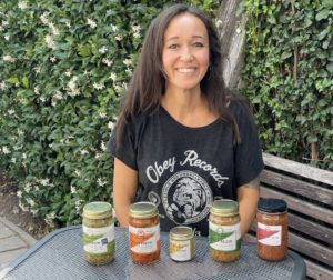 Mary Risavi of Wise Goat Organics. Photo by Robert Eliason.