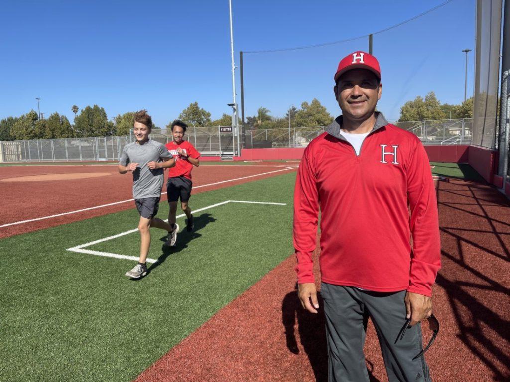 Coach Ralph Chavez. Photo by Robert Eliason.