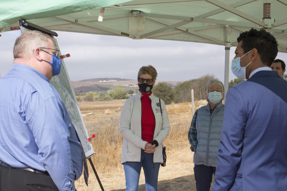 From left: Mike Chambless , Valerie Egland, Anita Kane and Robert Rivas. Photo by Noe Magaña.