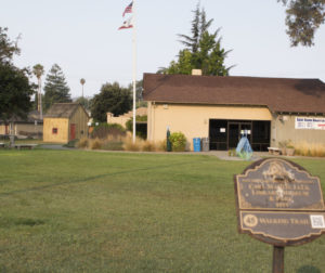 Luck Park houses the Carl Martin Luck Memorial Library, Jim Jack Cabin and the Luck Museum. Photo by Noe Magaña.