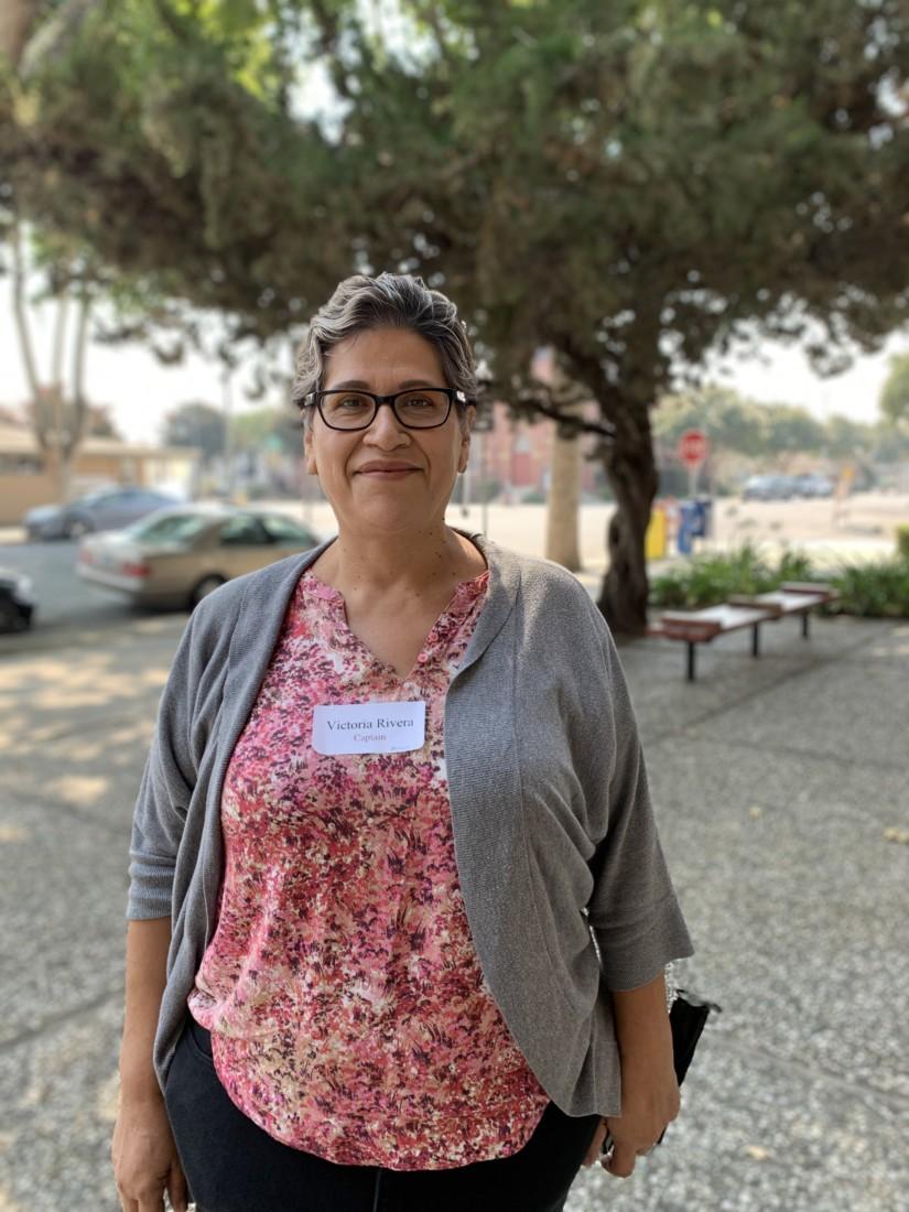 Victoria Rivera. Photo courtesy of SBC Elections Department.