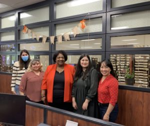 Shirley Weber and election office staff. Photo courtesy of SBC Elections Office.
