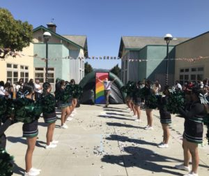Community Foundation for San Benito County President Gary Byrne coming out as an ally for the LGBTQIA community at the Pajaro Valley High School event. Photo courtesy of Gary Byrne.