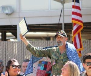 U.S. Army Veteran, Michael C. Wilson. Photo by Jenny Mendolla Arbizu.