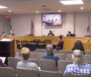 Board of Supervisors meeting on Sept. 28. Photo by Noe Magaña.