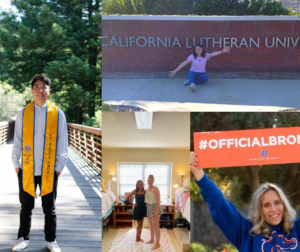 past BenitoLink interns left: Kurt Higa. Center: Emma Hoffman and roomate Samantha Villalobos. Bottom Right: Julia Hicks. Top Right: Olivia Madera