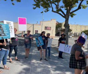 Reproductive Rights-Women's' Rally. Photo courtesy of Lauretta Avina.